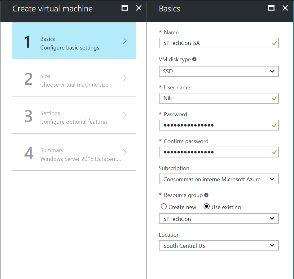 Create an Azure Virtual Machine