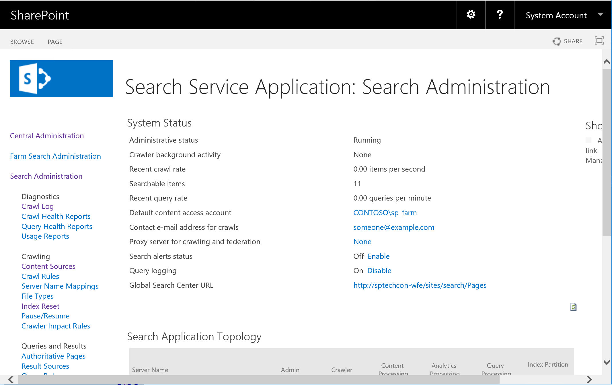 remove item from the search index in sharepoint using
