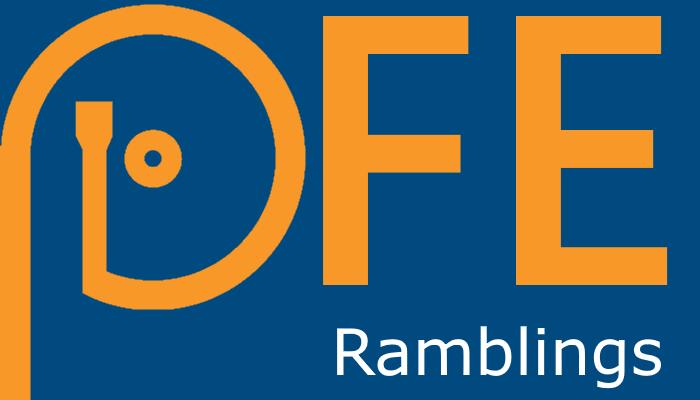 PFE Ramblings