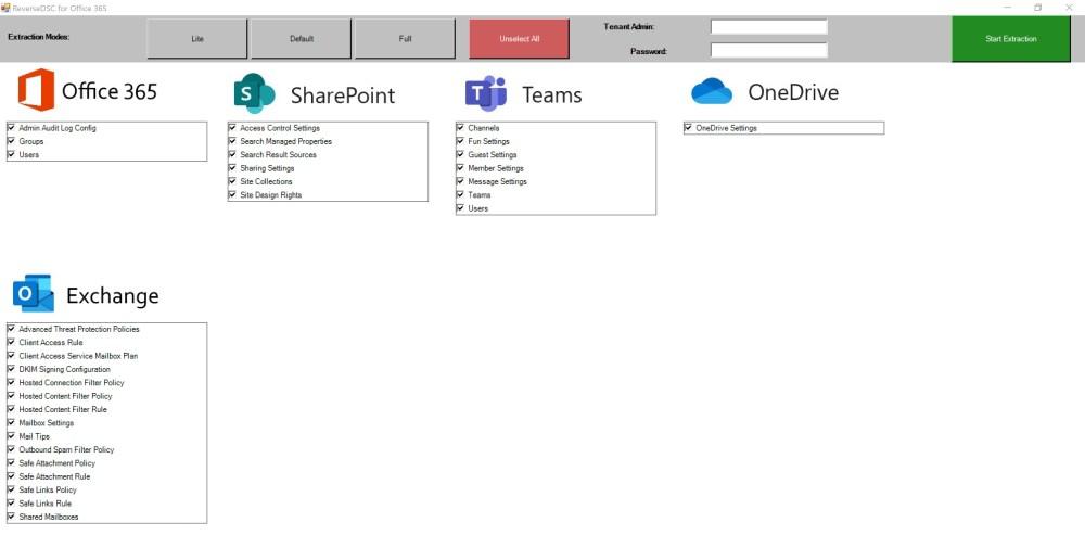 ReverseDSC for Office 365