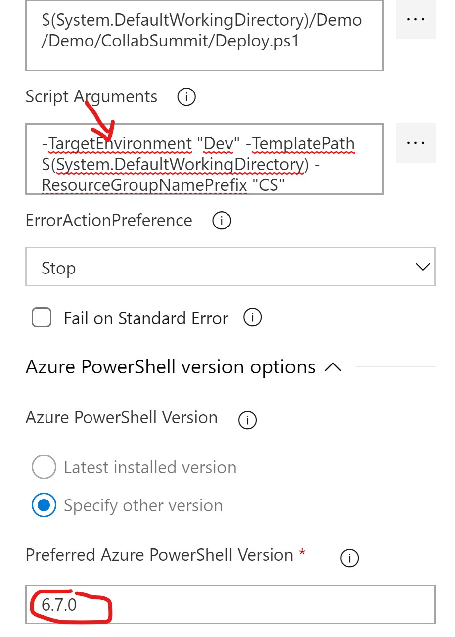Azure PowerShell Script