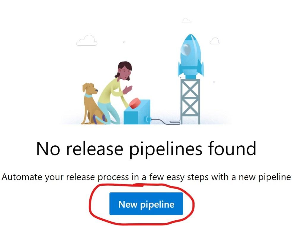 New Azure DevOPS Release Pipeline