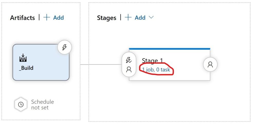 Add tasks to an Azure DevOPS Release Pipeline Stage