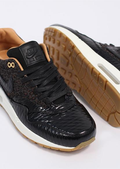 new product 03e20 e6965 ... leopard 616315 001 cbe35 50370  cheap nike air max 1 fb woven black and metallic  gold sneakers 73145 2ff35
