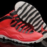 "2015 Air Jordan 10 ""Gym Red"" Gym Red/Black-Wolf Grey"