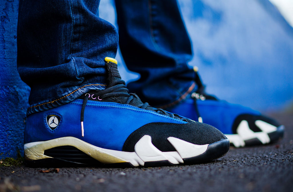 "air jordan xiv 14 low laney drumattx - Air Jordan 14 Low ""Laney."""