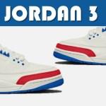 AIR JORDAN 3 WHITE CEMENT DUNK NRG, AJ3 USA, THE 1 REIMAGINED & MORE!!