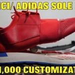 BALENCIAGA/BOOST CUSTOM ($1,000 SOLESWAP)