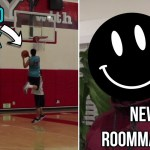 I GOT A NEW ROOMMATE!! – CRAZY BASKETBALL GAME HIGHLIGHTS!! ANKLE BREAKER!!