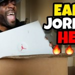 UNBOXING EARLY JORDAN THESE RELEASE IN 2018!!!