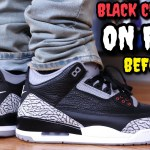 """BLACK CEMENT"" AIR JORDAN 3 ON FEET REVIEW! Watch BEFORE You Buy!"
