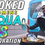 Cooked Women Jordan Aqua 8 Restoration by Vick Almighty