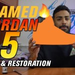 Flamed Air Jordan 5 Restoration and Customization