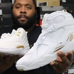 JORDAN 8 OVO WHITE DETAILED REVIEW