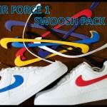 REVIEW – Nike Air Force 1  Swoosh Pack