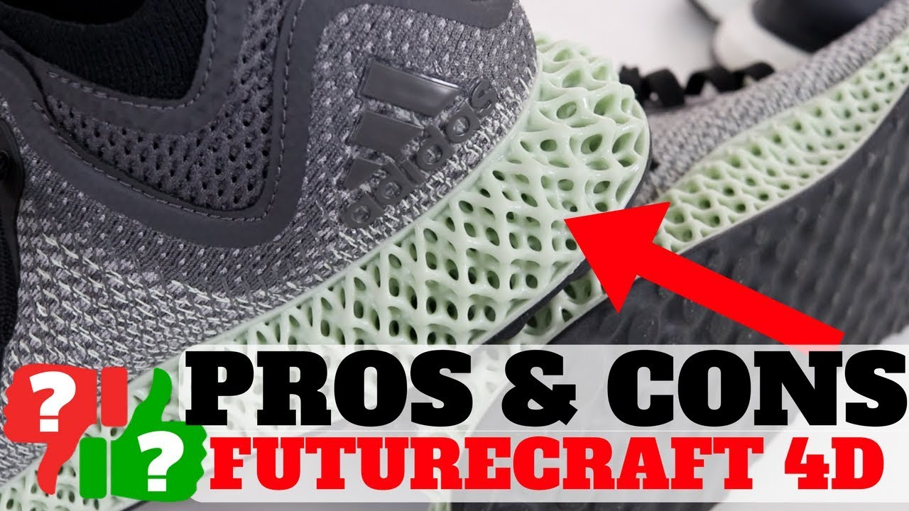 1 Month AFTER Wearing adidas FUTURECRAFT 4D PROS CONS - 1 Month AFTER Wearing adidas FUTURECRAFT 4D! PROS & CONS!
