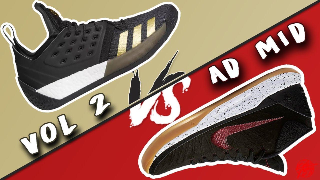 Adidas Harden Vol. 2 vs Nike Kobe AD Mid - Adidas Harden Vol. 2 vs Nike Kobe AD Mid!