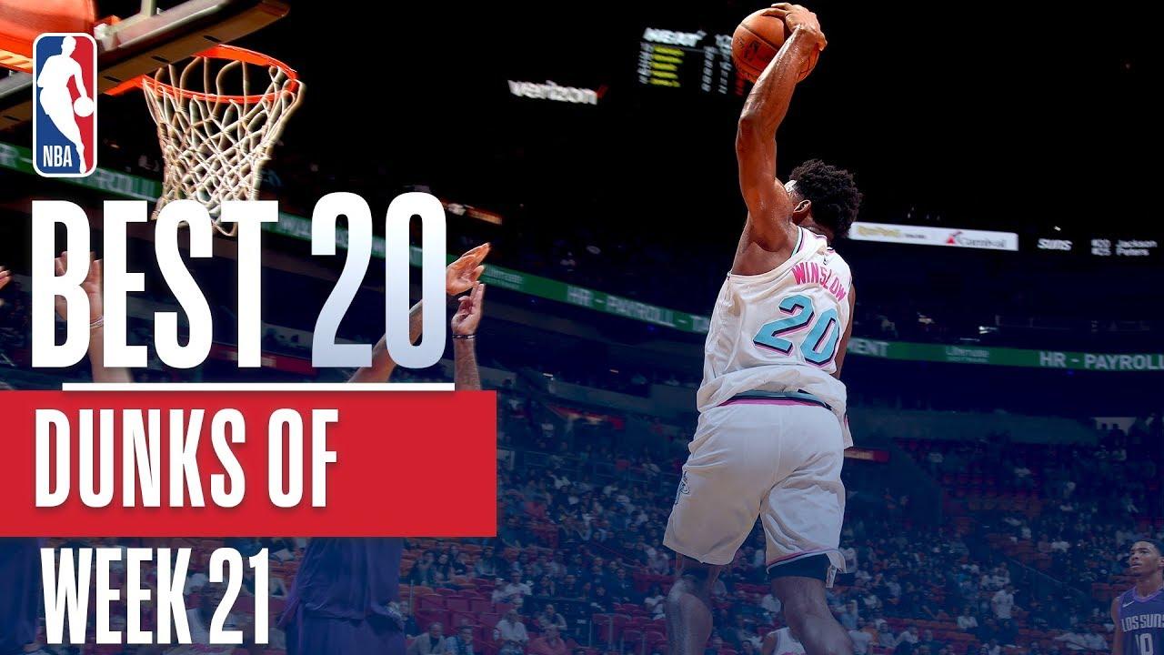 Best 20 Dunks From Week 21 of the NBA Season Javale Dwight Smart and more - Best 20 Dunks From Week 21 of the NBA Season (Javale, Dwight, Smart and more!)