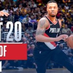 Best 20 Plays From Week 21 of the NBA Season (LeBron, Demar, Damian and more!)