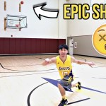 CRAZY 1v1 HALF COURT CHALLENGE FOR NIKE SHOES & EMBARRASSING PUNISHMENT!