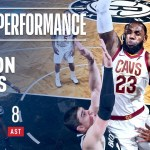 LeBron James Puts On A Show In Barclays!