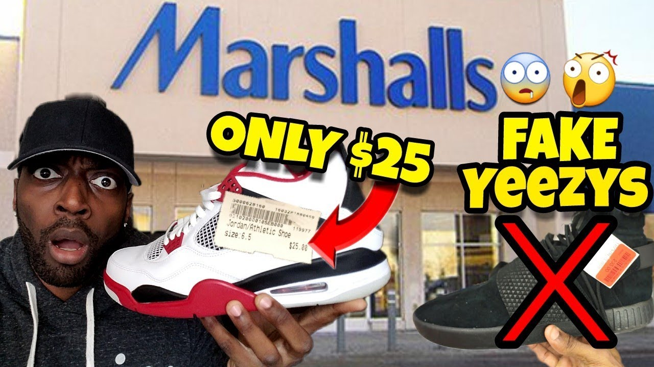 Marshalls has Fake Yeezys and Jordans for ONLY 25 At Platos Closet - Marshall's has Fake Yeezys and Jordans for ONLY $25 At Plato's Closet