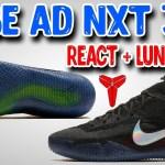 Nike Kobe AD NXT 360 First Impressions! React+Lunarlon Cushion!