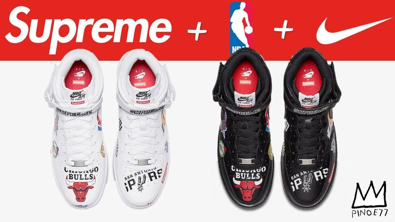 SUPREME x NBA x NIKE AIR FORCE 1 AIR JORDAN 11 PROM NIGHT MORE - SUPREME x NBA x NIKE AIR FORCE 1, AIR JORDAN 11 PROM NIGHT & MORE!!