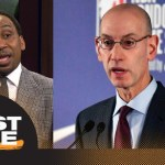 Stephen A. on NBA preparing to get involved with HS players: I don't like it | First Take | ESPN
