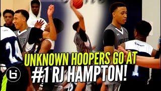 UNKNOWN HOOPERS GO AT 1 RJ HAMPTON Ballislife Highlights - UNKNOWN HOOPERS GO AT #1 RJ HAMPTON! Ballislife Highlights