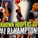 UNKNOWN HOOPERS GO AT #1 RJ HAMPTON! Ballislife Highlights