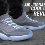 AIR JORDAN 11 LOW COOL GREY REVIEW