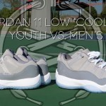 Air Jordan 11 Low 'Cool Grey'   KIDS vs MEN's