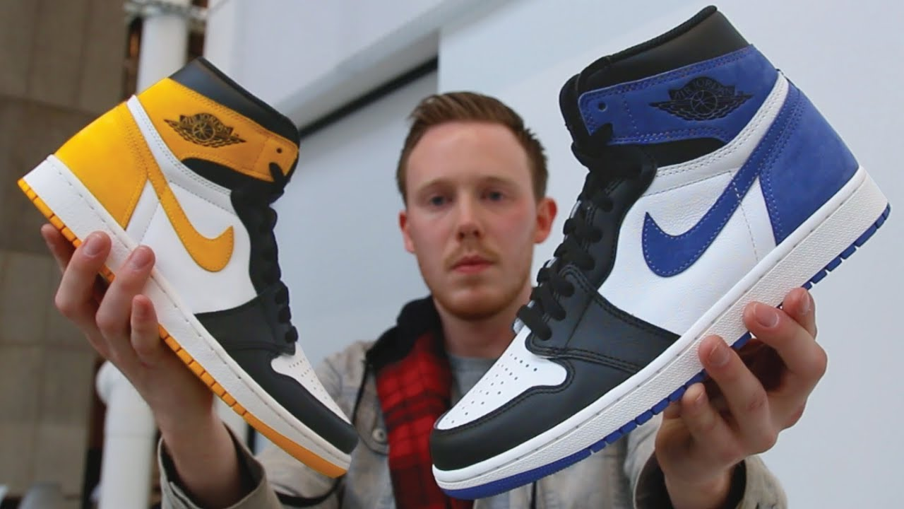 e7defb8edb6 IN HAND LOOK  BEST HAND IN THE GAME AIR JORDAN 1 COLLECTION
