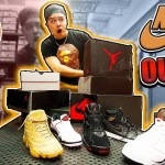 NIKE OUTLET WHAT'S IN THE BOX CHALLENGE! *tons of retros*