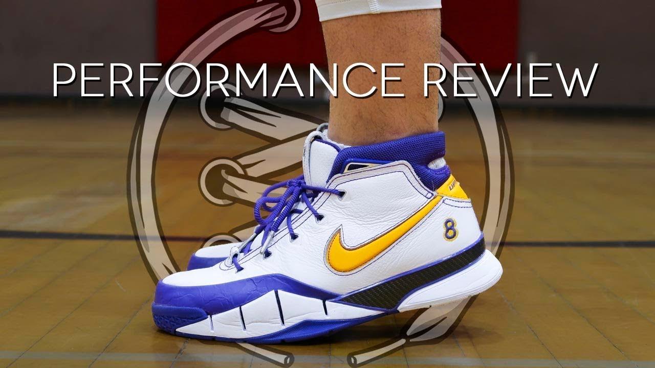 c3afbf3f204 Nike Kobe 1 Protro Performance Review
