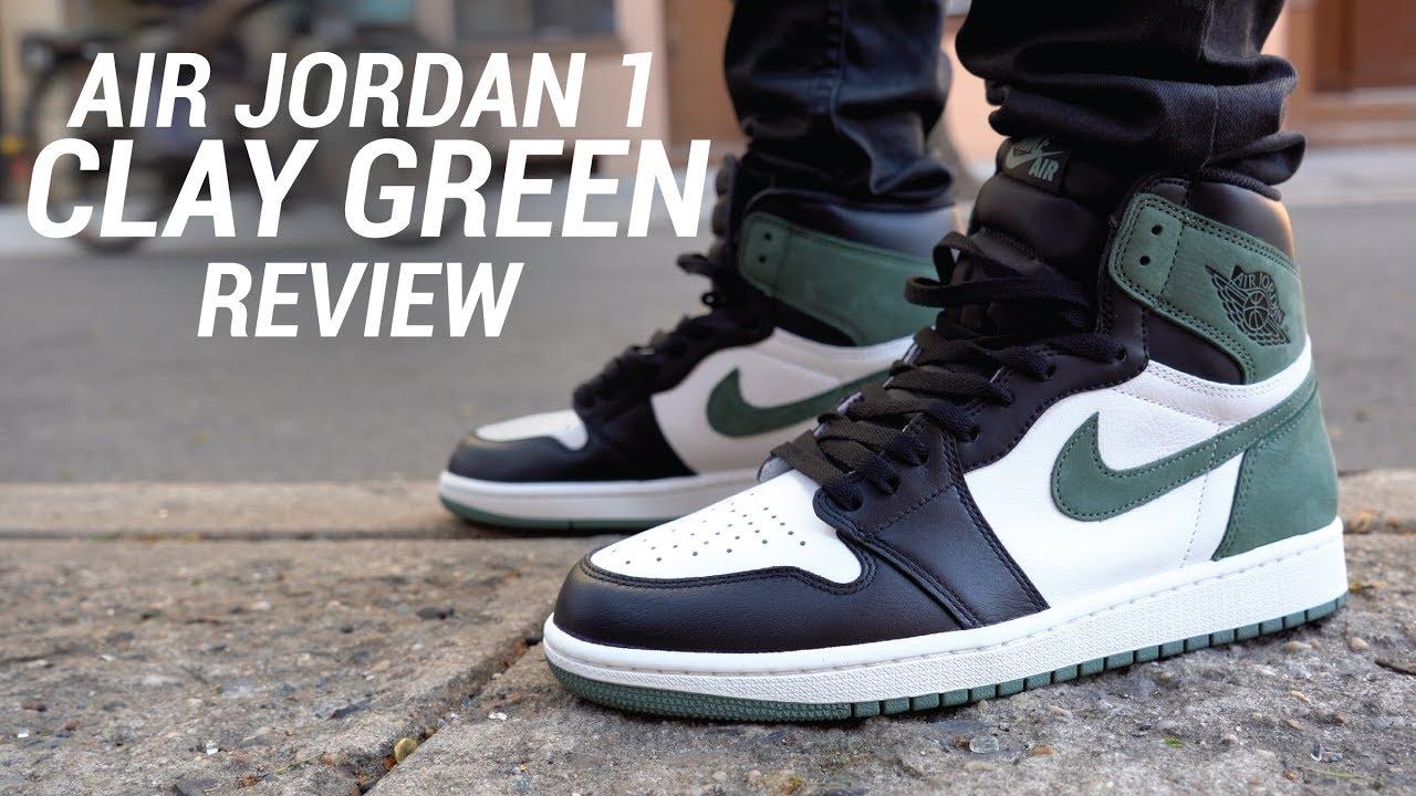 AIR JORDAN 1 CLAY GREEN REVIEW - AIR JORDAN 1 CLAY GREEN REVIEW