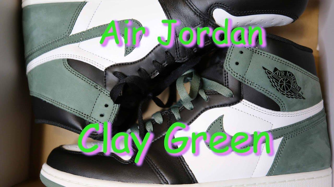 0a491884521 Air Jordan 1 Clay Green - Air Jordan 1