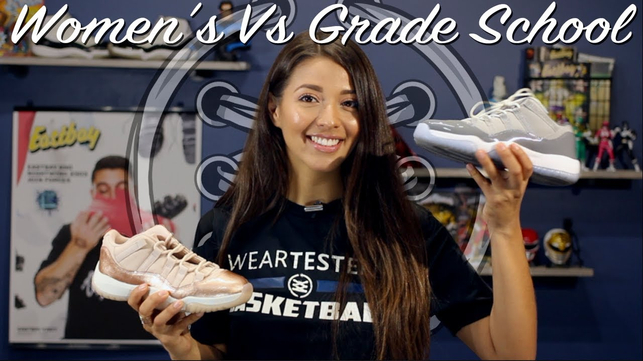 new products 01c6a 43610 Air Jordan 11 Women's Vs Gradeschool | What's the Difference?