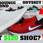 BEST $120 SHOE? Nike Odyssey React vs adidas AlphaBounce Beyond