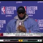 LeBron James Game 7 Press Conference   Eastern Conference Finals