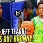 LeBron James Jr. Gives PACERS' Jeff Teague A GLIMPSE OF THE FUTURE!
