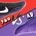 Nike Flyknit Kobe AD NXT 360 vs Kobe AD MID!