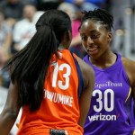 Nneka (19 PTS) and Chiney Ogwumike (18 PTS) Duel in Connecticut