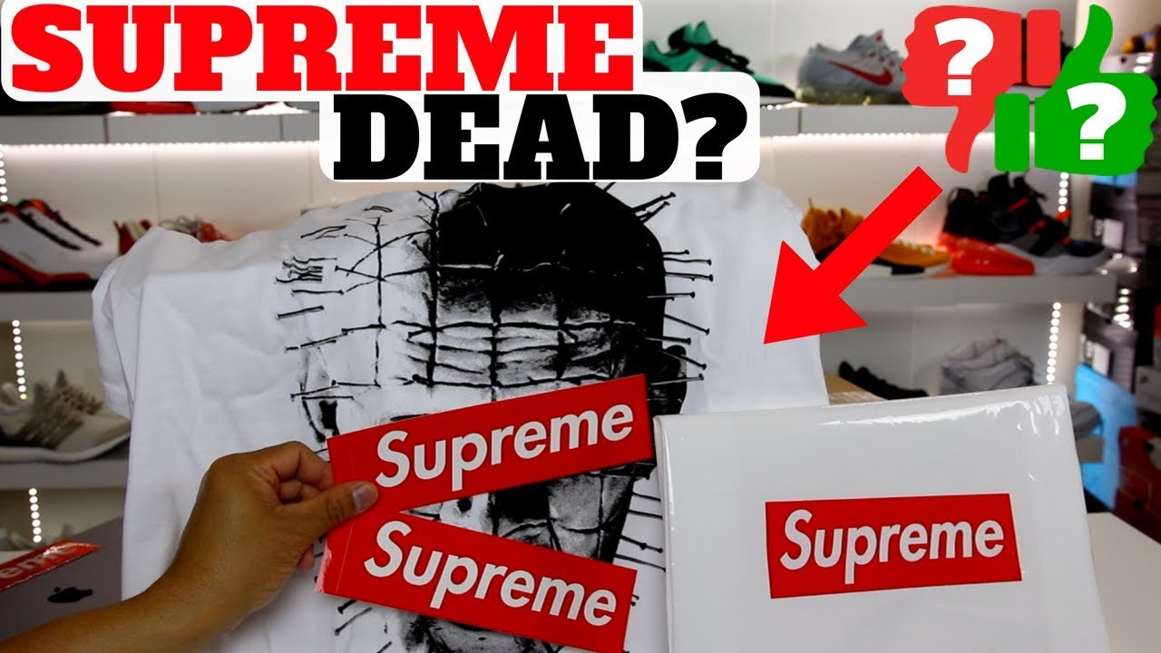Supreme DEAD Custom Vans I Made A SLEEPER Nike Unboxing - Supreme DEAD? Custom Vans I Made! & A SLEEPER Nike Unboxing!