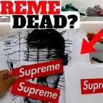 Supreme DEAD? Custom Vans I Made! & A SLEEPER Nike Unboxing!