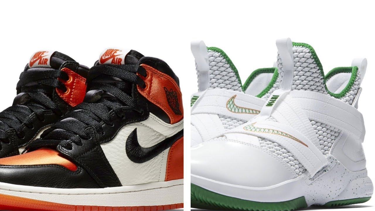 """The JORDAN 1 SBB Returns A Hype Shoe for 100 LeBron SVSM and more SNEAKERS on Heat Check - The JORDAN 1 """"SBB"""" Returns, A Hype Shoe for $100, LeBron """"SVSM"""" and more SNEAKERS on Heat Check"""