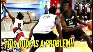 They TRIED Guarding Him 1 on 1 w No Luck Nassir Little Is The Definition of ONE DONE - They TRIED Guarding Him 1 on 1 w/ No Luck!! Nassir Little Is The Definition of ONE & DONE!!