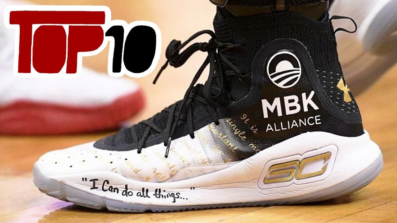 100% authentic 59af8 83131 Top 10 Under Armour Curry 4 Shoes Of 2018