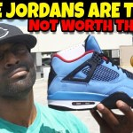Don't Buy Jordan 4 Travis Scott They Are TRASH!! Don't Believe The Hype